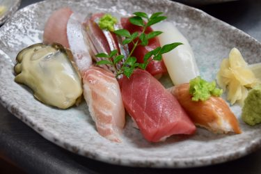 WaterFront Inn's special Sushi lunch