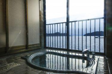 6 inns to take in hot springs in Ine Town